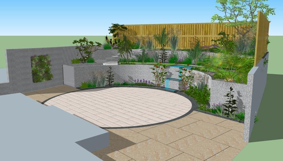 Glen Humphries Truro Garden Designers